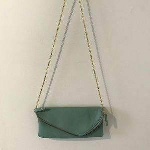 Urban Expressions Richie Clutch – Teal/Turquoise